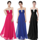Ever Pretty Long Simple Ladies Bridesmaid Evening Gown Formal Dresses 09915