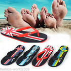 2015 Fashion Men's The World Cup national flag Sandals Beach Slippers Flip Flops