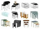 Nest of 3 & 4 Tables for Homes in Different Material, Designs & Colors - NEW