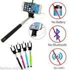 Selfie Stick Cable Take Self Pole for iPhone 6 5 5s iPhone 6 Android Smart Phone