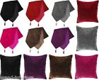 DISCO SPARKLE ELECTRA SEQUIN TABLE RUNNERS / CUSHION COVERS CHENILLE VELVET LOOK