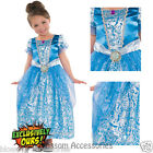 KK7 Deluxe Cinderella Princess Girls Fairy Tales Book Week Fancy Dress Costume