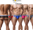 New Sexy Mens soft Underwear Boxer Briefs U bulge Trunks Backless Underpants S-L