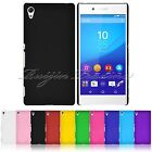 Shockproof Rubberized Hard Plastic Matte Back Cover Case Skin For Sony Xperia Z4