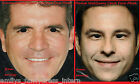 Simon Cowell David Walliams Amanda Holden Alesha Dixon Face Mask Celebrity Masks
