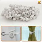 "20/50/100 6/ 9"" Ball Bungees Tarp Party Tent Tie Down Canopy Gazebo White Cords"