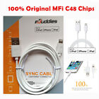 Lightning Apple MFI Certified USB Sync Charger Data Cable for iPad Air 4 mini 2