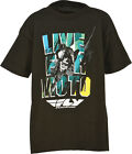 Fly Racing Live For Moto Tee Kids/Toddler T-Shirt (Black) Choose Size