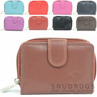 Ladies / Womens Small Soft Leather Purse with Multiple Features