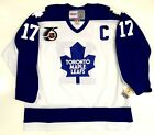 e76461b55 WENDEL CLARK TORONTO MAPLE LEAFS CCM VINTAGE JERSEY NHL 75TH NEW WITH TAGS