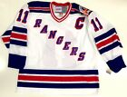 MARK MESSIER NEW YORK RANGERS CCM VINTAGE 1994 STANLEY CUP WHITE JERSEY NEW