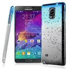 Fits Samsung Galaxy S6 S5 Neo Note 4 Phone Raindrop Hard Case Protective Cover