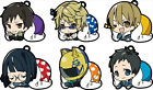 Durarara!! x2 Eformed Futonmushi Rubber Strap Clip Collection 6Pack BOX