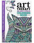 Brand New Book - Art Therapy Anti-Stress Adult Colouring Positive Soothing