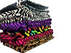Super Soft Luxurious Fleece Throw Blanket Zebra & Leopard Available For all Beds image