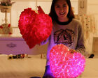 Sweet Rose Decoration Light up Heart Illumination Pillow Cushion For Lovers Gift