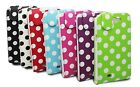 POLKA DOT DESIGN LEATHER FLIP CASE COVER FOR SAMSUNG GALAXY NOTE II N7100