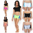 Dig 'em Smack boy shorts - multi-color stretch panties workout sleep gym NEW