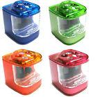 Jakar Double Hole Electric Battery Pencil Sharpener - Select Your Colour