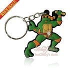 1PCS Teenage Mutant Ninja Turtles/TMNT Character Keychains Fashion key pendant