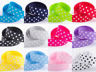 Polka Dot Grosgrain Ribbon - 15mm x 10m  Various Colours
