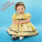"Ashton-Drake Sunny, 22"" Flower Girl So Truly Real Vinyl & Cloth, New In Box"