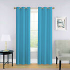 NEW 2 PANEL SOLID LINED THERMAL BLACKOUT GROMMET WINDOW CURTAIN DRAPE NEW JK64 <br/> 1 SET IN 63&quot; 84&quot; 95&quot; OR 108 length ROOM DARKINING