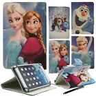 """Universal Faux Leather Stand Flip Cover For 7"""" Inch Tab Android Tablets - Frozen"""