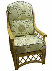 HUMP BACK CANE CHAIR CUSHIONS/ COVERS CONSERVATORY WICKER RATTAN FURNITURE Gilda