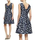 AUTH $398 KATE SPADE leopard print fit and flare dress