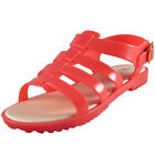 Premier Womens Girls Fishermans Jelly Holiday Beach Sandals Coral AUTHENTIC