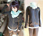 Noragami Yato Cosplay Costume Sports Suit Whole Set Clothes/Pants/ScrafNorag @72