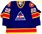 JOEL QUENNEVILLE COLORADO ROCKIES CCM VINTAGE JERSEY NEW WITH TAGS