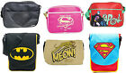 DC Comics: Holdall / Messenger Bag / Satchel - New + Official With Tags Batman