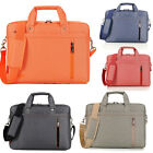"""13"""" 14"""" 15"""" 17"""" Inch Laptop Notebook carrying Messenger bag case briefcase"""