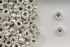 925 Sterling Silver 10mm Plain Round Tire Spacer Beads, Choice of Lot Size