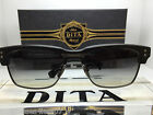 Authentic Dita SUNGLASSES GRANDRESERVE TWO MATTE BLACK/SILVER GRADIENT GRAY TINT