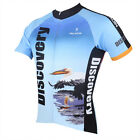 Discovery Men's Cycling Clothing Flamingo Bike Bicycle Jerseys Sport Jacket Top
