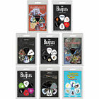 Set Of 6 Guitar & Bass Plectrums / Picks Album Art - New In Pack The Beatles