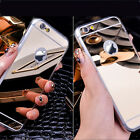 2015 Soft Tpu Bumper Case Mirror Back Cover Skin for Apple iPhone 5 5S 6 6+ Plus