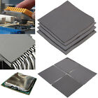 100mm x 100mm Square Thermal Heatsink Transfer Cooling Pad Double Sided Adhesive