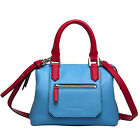 Women's Brand New Fashion Genuine Leather Blue Handbag shoulder Bag
