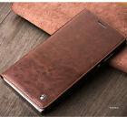 QIALINO Real Leather Wallet Case for Huawei Mate S / P8 Max Flip Cover Business