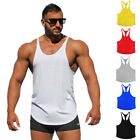 Pro Gym Men Tank Top Stringer Bodybuilding Workout Muscle Undershirt Fitness