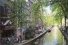 Poster / Leinwandbild Canal in the Red Light District, Amsterdam,... - A. Hall