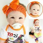22'' Reborn Baby Doll Realistic Girl Vinyl Silicone Newborn Baby Halloween Gift