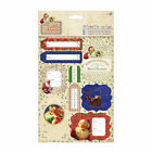 2 A5 sheets die cut tags CHRISTMAS Letter to Santa Papermania toppers