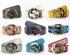 NEW Authentic GUCCI Belt w/Interlocking G Buckle 114876
