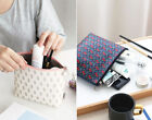 HIMORI ICONIC Pattern Pouch L - Zipper Cosmetic Case Travel Organizer Makeup Bag