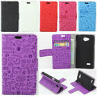 La Gamine PU Leather Wallet Flip Slots Stand Cover Skin Case Mobile Phones #1